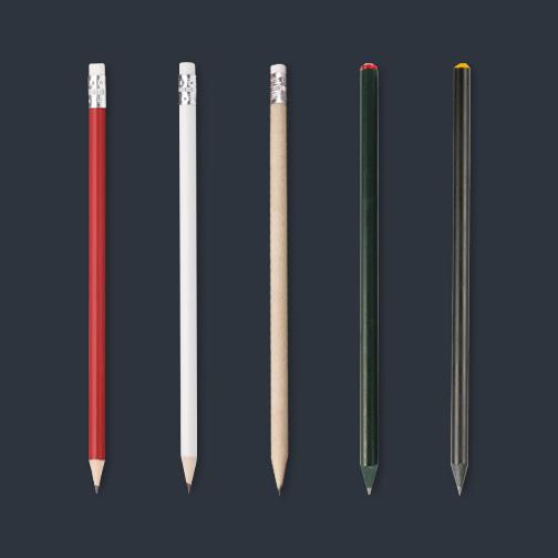 Crayons à papier personnalisé