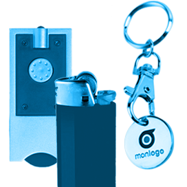Porte-clés avec jeton