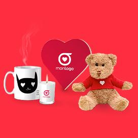 Idées cadeaux publicitaires pour la Saint-Valentin