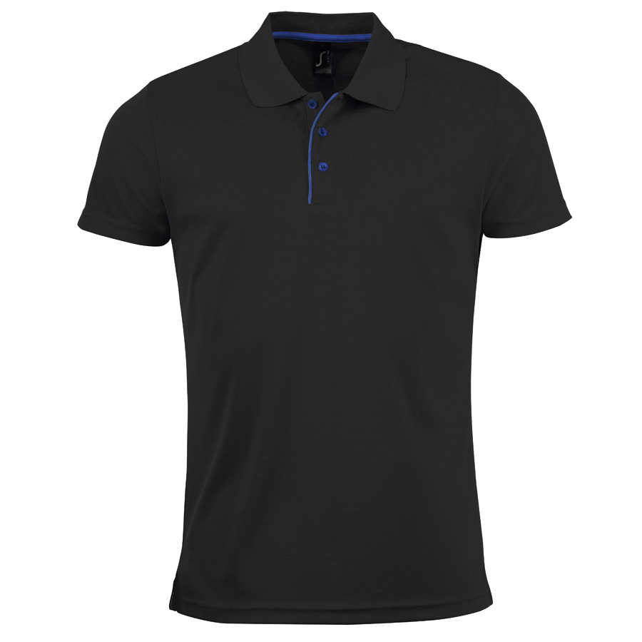 Image of POLO RESPIRANT HOMME 'PERFORMER' COULEUR 180 GR/M²