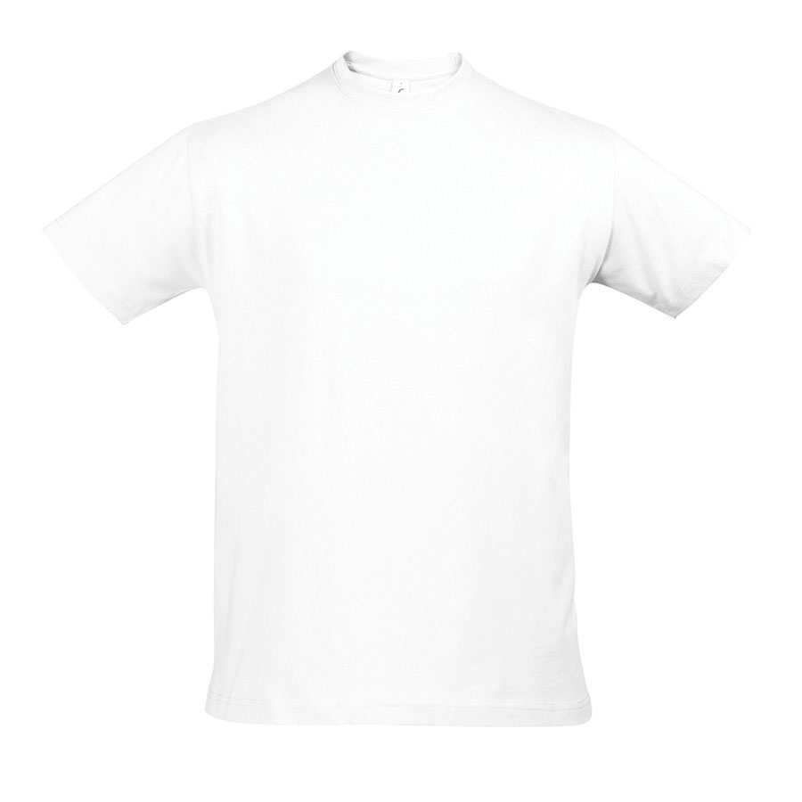 TEE-SHIRT PUBLICITAIRE 'IMPERIAL' HOMME BLANC 190 GR/M²