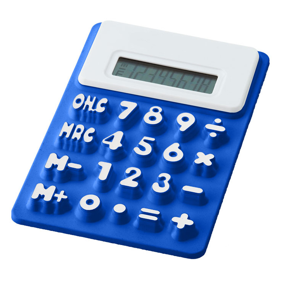 Image of CALCULATRICE FLEXIBLE 'DANY'