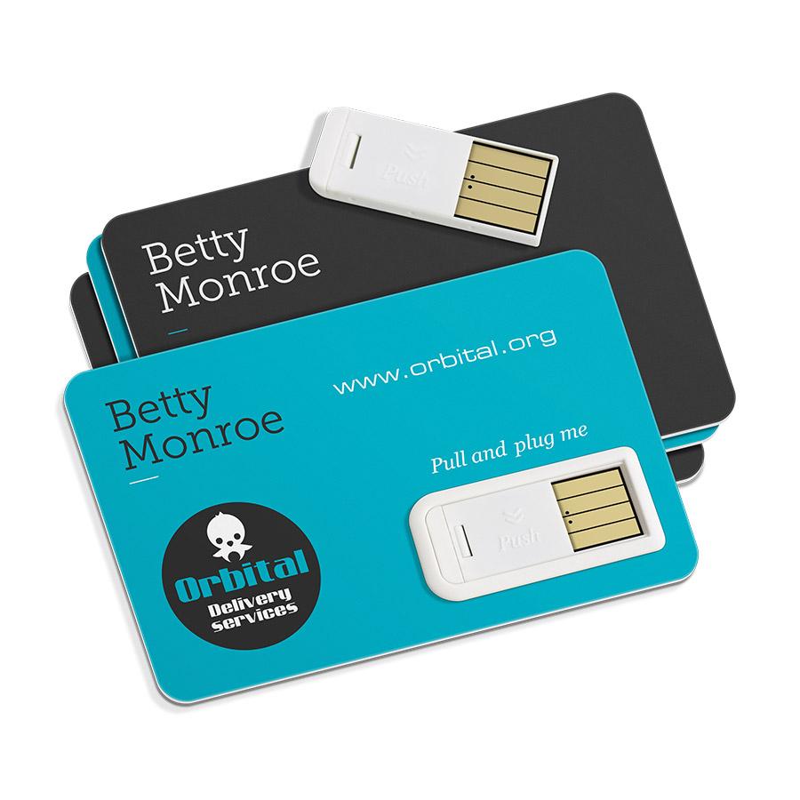 CLE USB 'PAPER' 8,5x5,5 cm