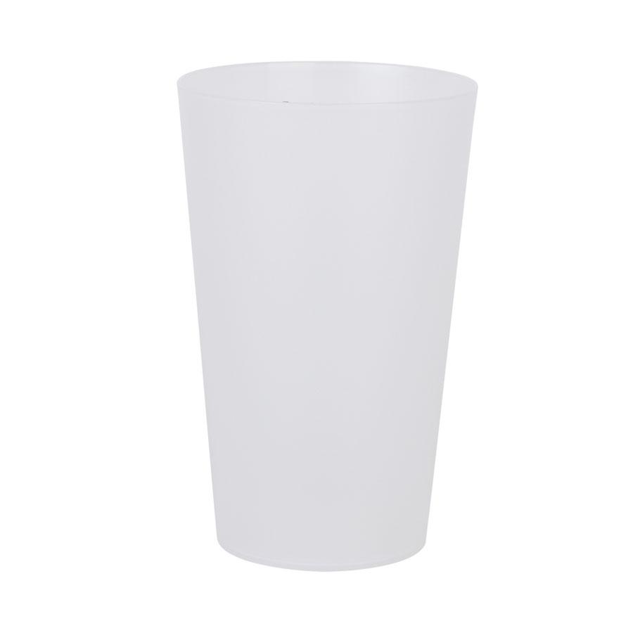 Image of GOBELET PUBLICITAIRE RÉUTILISABLE 'CUP' 60 CL