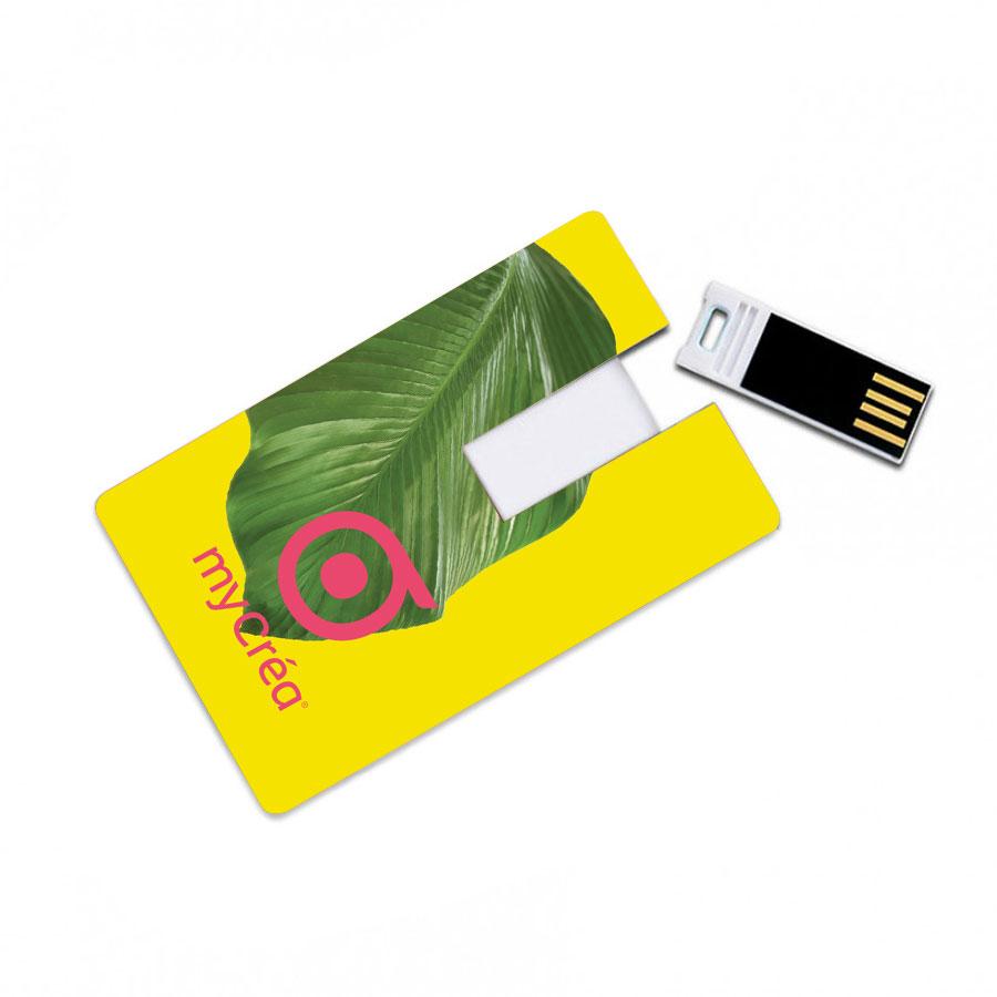 CLE USB PUBLICITAIRE 'CARTE USB'