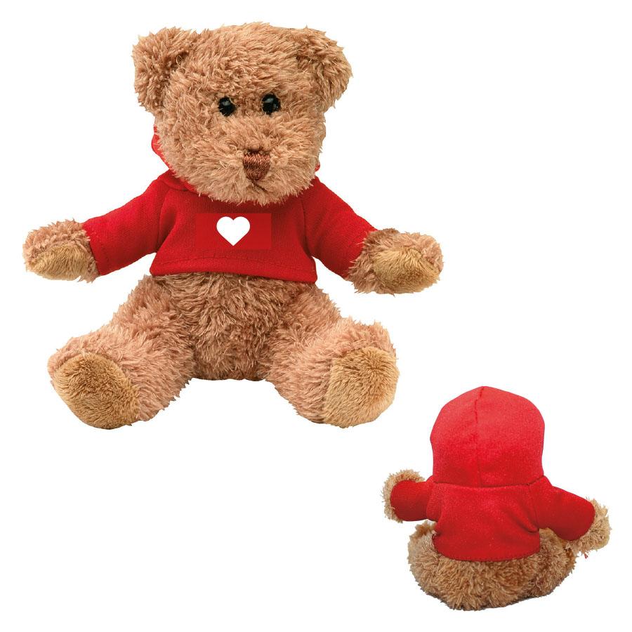 PELUCHE PERSONNALISÉE SAINT-VALENTIN 'TEDDY LOVE'