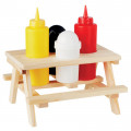 PORTE-CONDIMENTS TABLE DE PIQUE-NIQUE