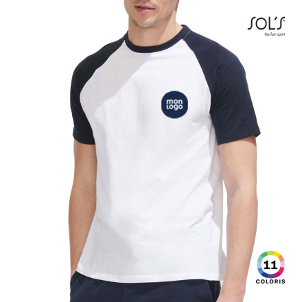 TEE SHIRT PUBLICITAIRE HOMME 'FUNKY' 150 GR/M²