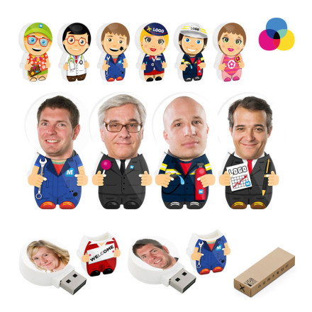 CLE USB PUBLICITAIRE 'MINI YOU'