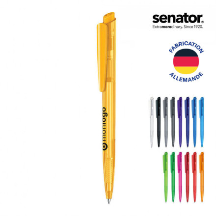 LOT DE 500 STYLOS SENATOR® 'DART' CLEAR