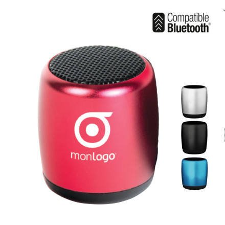 MINI ENCEINTE BLUETOOTH® 3W PUBLICITAIRE 'LOUNGE'