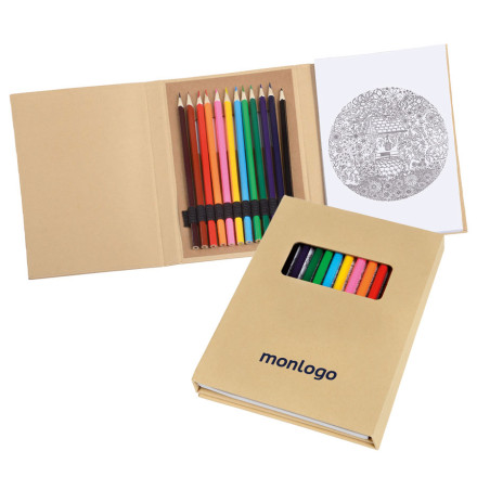 KIT DE COLORIAGE PROMOTIONNEL 'CAPUCINE'