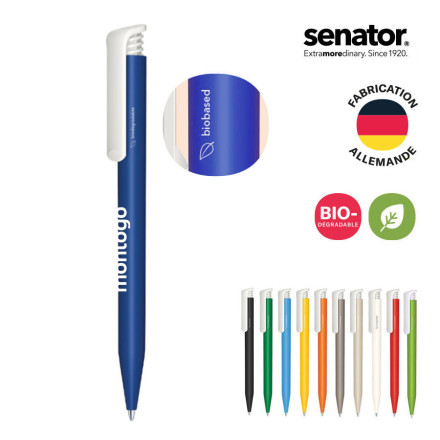 STYLO PERSONNALISE SENATOR® BIODEGRADABLE 'SUPER HIT'