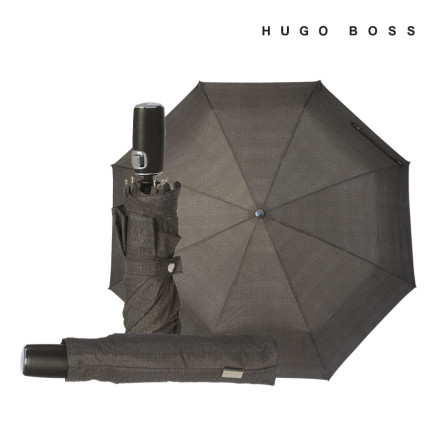 PARAPLUIE PLIABLE AUTOMATIQUE HUGO BOSS® 'ILLUSION'