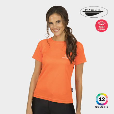 TEE SHIRT RESPIRANT FEMME PEN DUICK® COULEURS 'FIRSTEE'