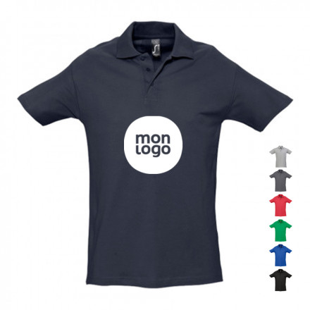 POLO HOMME PERSONNALISÉ 'SPRING' EXPEDITION EXPRESS 24H