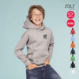 SWEAT-SHIRT CAPUCHE PUBLICITAIRE ENFANT 'SLAM'