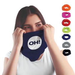 FOULARD TUBE PUBLICITAIRE MULTI-USAGES 'MADY'