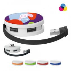 HUB USB PUBLICITAIRE 4 PORTS 'TACOMA'