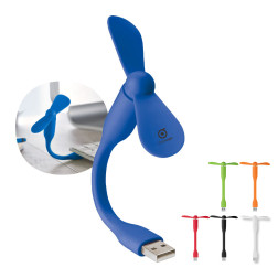 MINI VENTILATEUR FLEXIBLE USB 'EOLE'