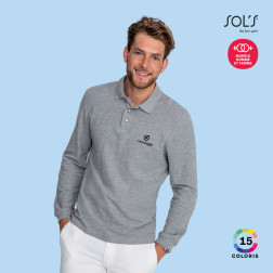 POLO PUBLICITAIRE MANCHES LONGUES HOMME 'WINTER II'