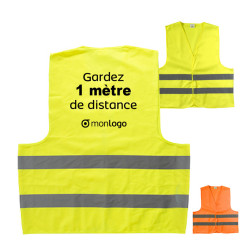 GILET DE SÉCURITÉ PROMOTIONNEL ADULTE 'KAMPO'