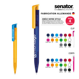 STYLO PERSONNALISABLE SENATOR® 'SUPER HIT' MIX & MATCH FROSTED