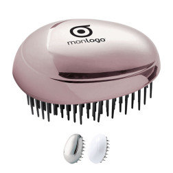 BROSSE A CHEVEUX GALET PERSONNALISABLE 'TAHA'