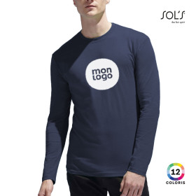 TEE-SHIRT HOMME MANCHES LONGUES 'MONARCH' 150 GR/M²