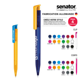 STYLO PROMOTIONNEL SENATOR® 'SUPER HIT' MIX & MATCH FROSTED