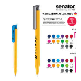 STYLO PERSONNALISABLE SENATOR® 'SUPER HIT' MIX & MATCH POLISHED