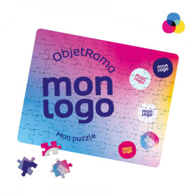 PUZZLE RECTANGULAIRE 80 PIECES PROMOTIONNEL 'RUMA'