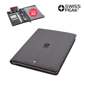 CONFERENCIER PERSONNALISABLE A4 SUPPORT TABLETTE SWISS PEAK® 'WITCO'