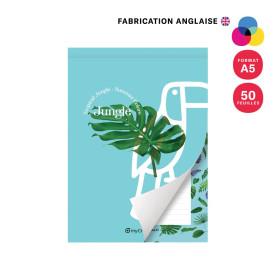 BLOC-NOTES PERSONNALISÉ A5 AVEC COUVERTURE 'ORSON' 50 FEUILLES