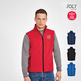 BODYWARMER SOFTSHELL HOMME PROMOTIONNEL 'RACE BW'