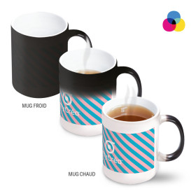 MUG MAGIQUE PUBLICITAIRE IMPRESSION SUBLIMATION 'MACHIATTO'