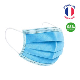 MASQUE CHIRURGICAL TYPE IIR MADE IN FRANCE 'TILLY'