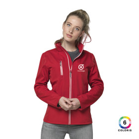 VESTE SOFTSHELL FEMME PUBLICITAIRE 'KAMALI' - EXPEDITION EXPRESS 72H