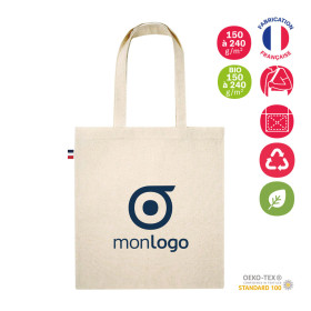 TOTE BAG PUBLICITAIRE BIO 'FRENCH BAG'