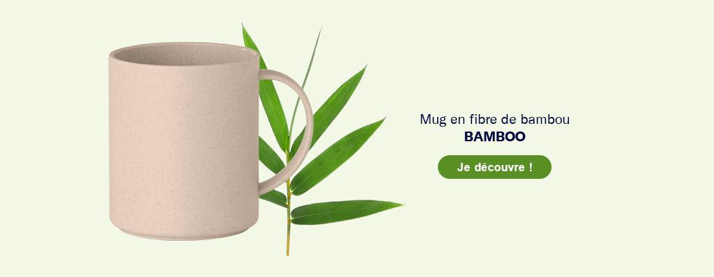 Mug en bambou publicitaire 'Bamboo'