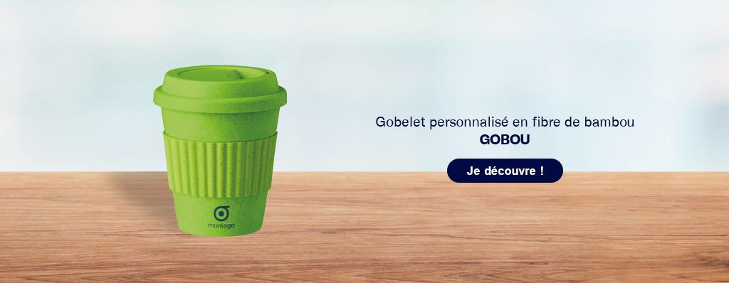 Découvrez le gobelet publicitaire réutilisable en bambou !