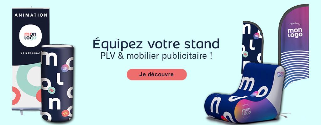 Mobilier Publicitaire & PLV Personnalisé