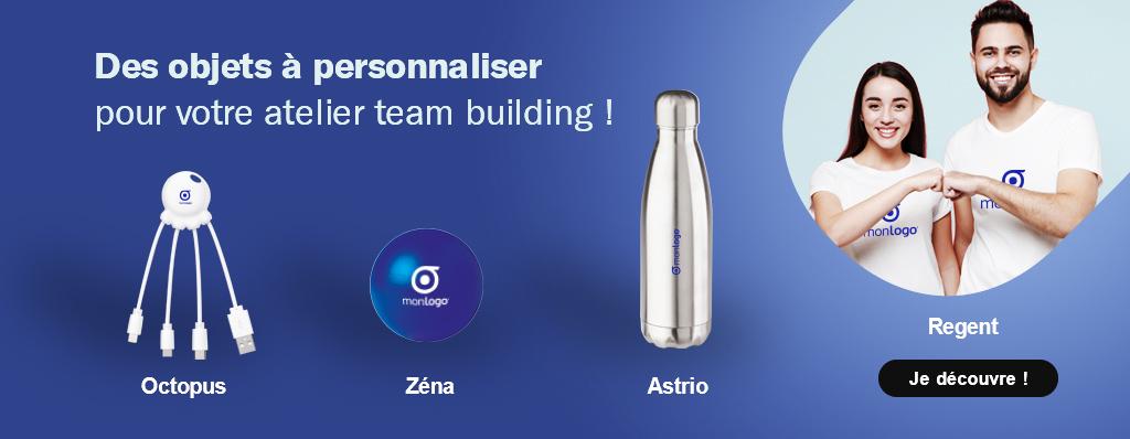Des objets publicitaires pour votre atelier team building !