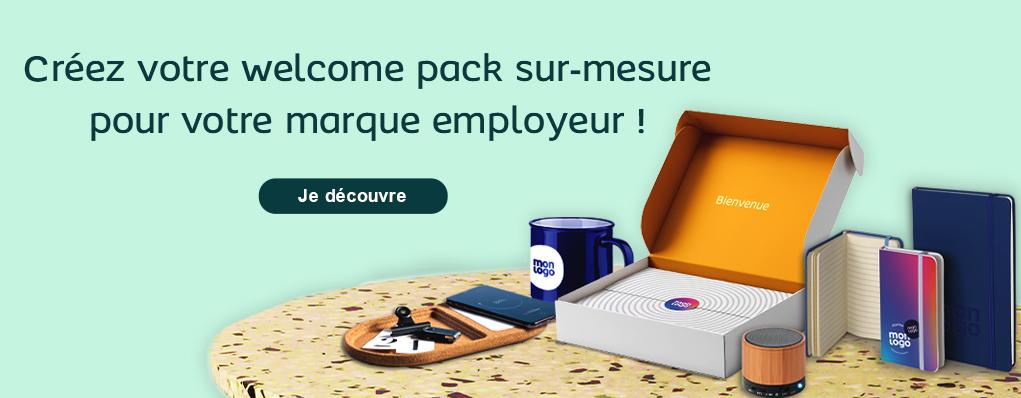 Welcome Pack personnalisé : boostez votre marque employeur