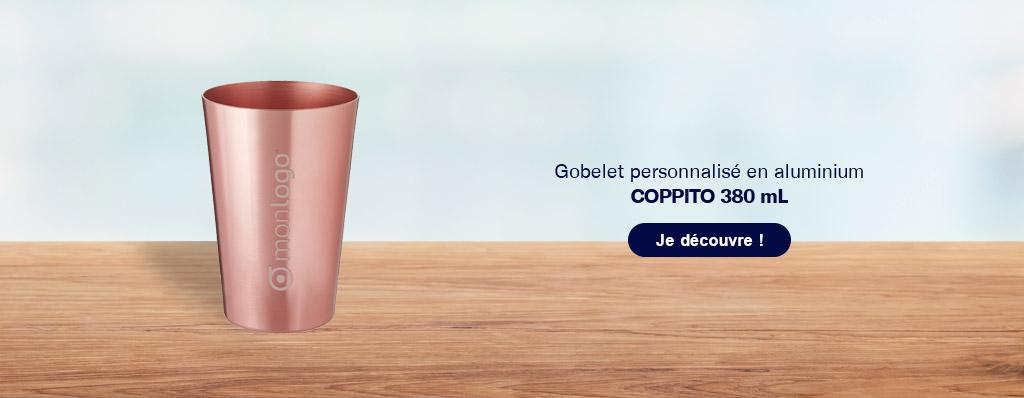 Optez pour un gobelet réutilisable personnalisé en aluminium !