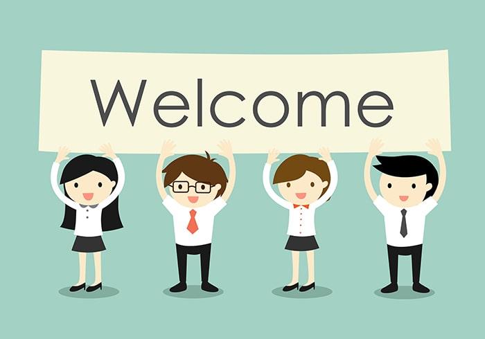 Welcome Pack en entreprise