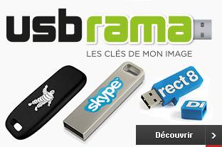 USBRAMA - clé usb