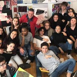 jeunes de la fondation d'Auteuil