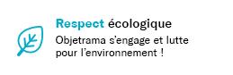 ObjetRama s'engage dans l'écologie