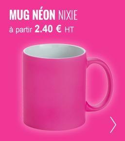 mug neon publicitaires nixie - objetrama